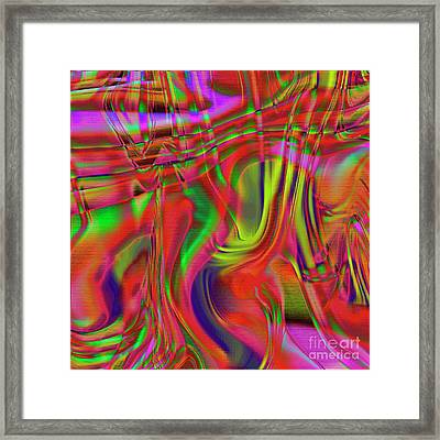 1799 Abstract Thought Framed Print