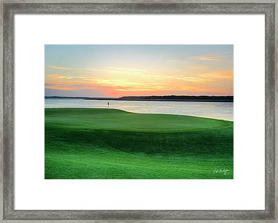 17th At Dusk Framed Print by Phill Doherty