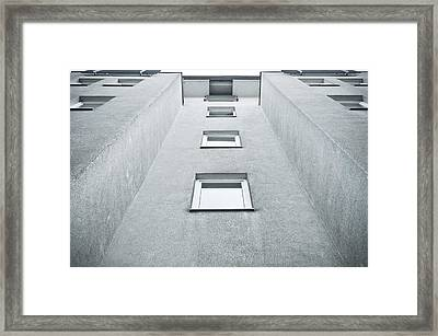 Apartment Building Framed Print