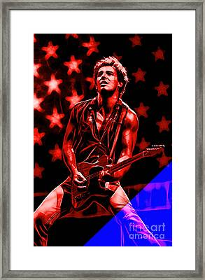 Bruce Springsteen Collection Framed Print