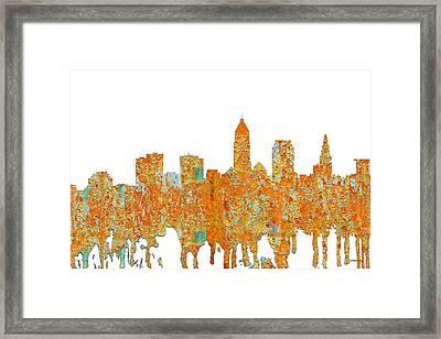 Chicago Illinois Skyline Framed Print