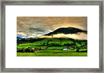 Cool Landscape Framed Print