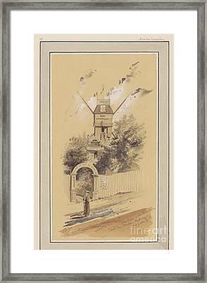 Drawn To Paris  Framed Print