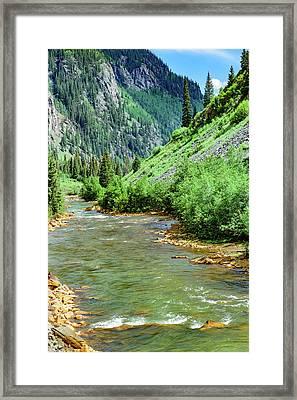 Silverton - Colorado Framed Print by Jon Berghoff
