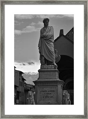 Framed Print featuring the photograph Florence Italy by Cendrine Marrouat