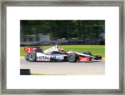 Indycar Racing Indianapolis 500 Framed Print