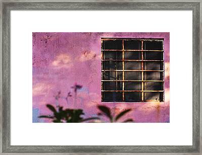 18 Rectangles  Framed Print by Prakash Ghai