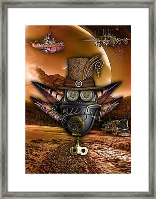Steampunk Art Framed Print