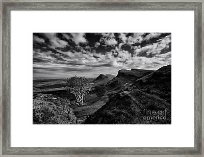 The Quiraing Framed Print by Nichola Denny
