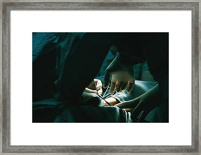 Untitled Framed Print by Dick Durrance Ii