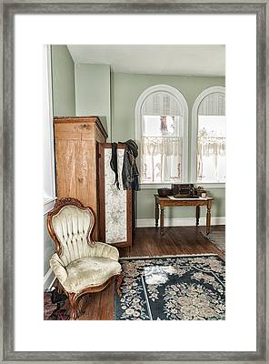 1800 Closet And Chair Framed Print