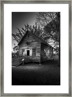 1800's Florida Church Framed Print by Marvin Spates