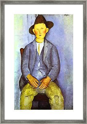 Amedeo Modigliani  Framed Print