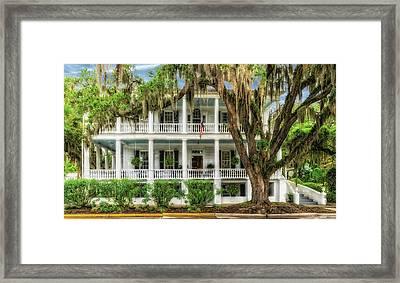 1820 Historic Bed And Breakfast South Carolina  -  013-6178 Framed Print