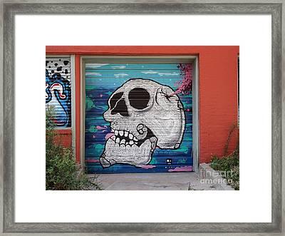 Kc Graffiti Framed Print