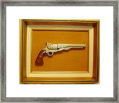 1851 Colt Framed Print by Russell Ellingsworth