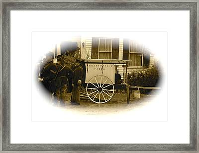 1863 Cival War Camera Framed Print by Robert Pearson