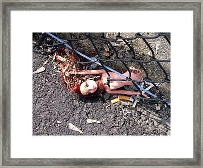 187 On Barbie Framed Print by Denise Keegan Frawley