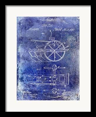 Old Plows Framed Prints