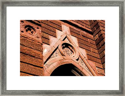 Framed Print featuring the photograph 1875 Church by Onyonet  Photo Studios