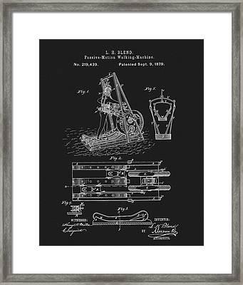 1879 Treadmill Framed Print