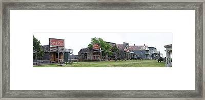 1880 Town South Dakota Framed Print by Gregory Jeffries