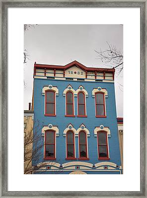 1882 Framed Print by Jan Amiss Photography