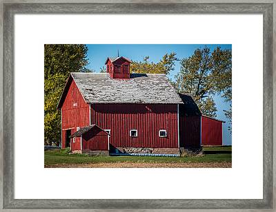 1883 Iowa Barn Framed Print