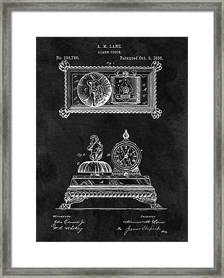 1888 Alarm Clock Framed Print