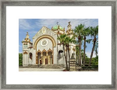 Framed Print featuring the photograph 1889 Memorial Presbyterian Church St. Augustine   -   1889memorialpresbyterian123057 by Frank J Benz
