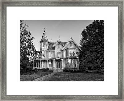 1890 Joshua Wilton House - 4 Framed Print by Frank J Benz