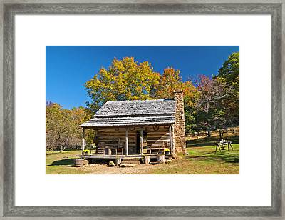 1890's Farm Cabin Framed Print