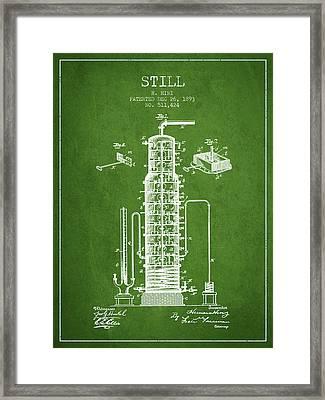 1893 Still Patent Fb82_pg Framed Print by Aged Pixel