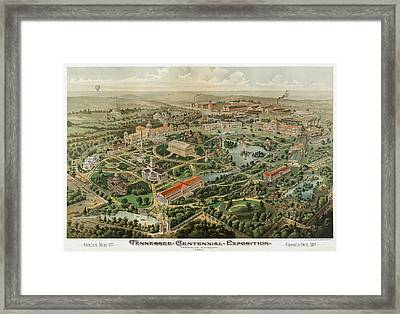 1897 Nashville Tennessee Framed Print