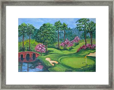 18th Hole Framed Print