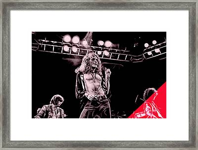 Led Zeppelin Collection Framed Print by Marvin Blaine