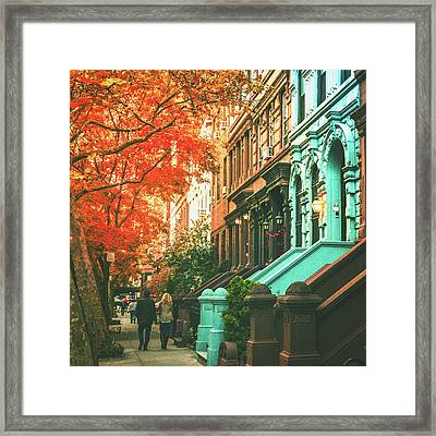 New York City  Framed Print by Vivienne Gucwa
