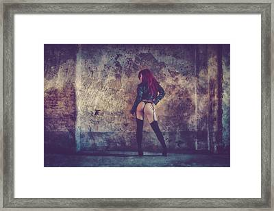 Framed Print featuring the photograph Pretty Things Are Going To Hell by Traven Milovich