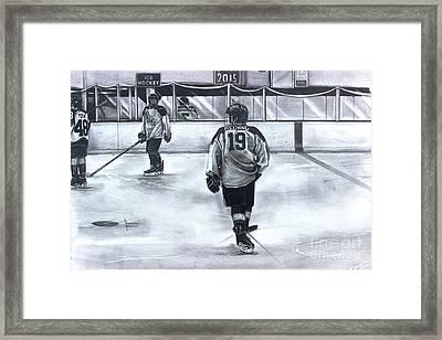 #19 Reising Bmsaa  Framed Print