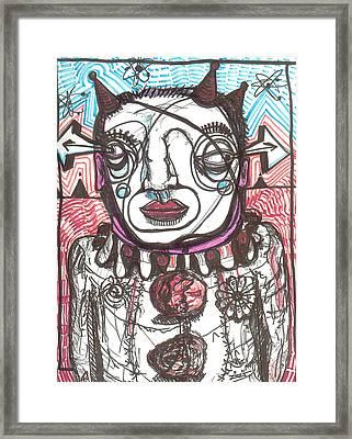 19 Framed Print by Robert Wolverton Jr
