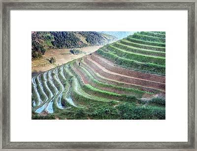 Sapa - Vietnam Framed Print by Joana Kruse