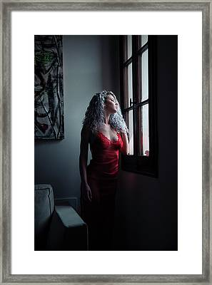 Framed Print featuring the photograph Tu M'as Promis by Traven Milovich