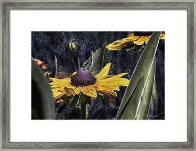 Thinking Of Vincent Van Gogh Framed Print