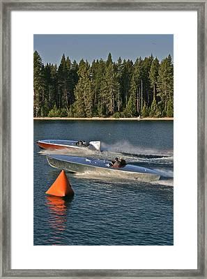 Vintage Racers Framed Print
