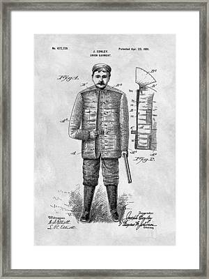 1901 Hunting Jacket  Framed Print by Dan Sproul