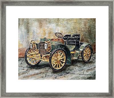 1901 Mercedes Benz Framed Print