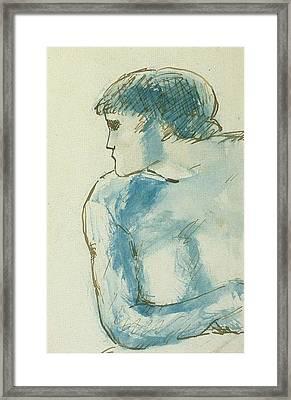 1902 Le Boxeur Framed Print