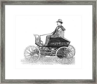 1903 Haynes Pioneer Framed Print by Jack Pumphrey