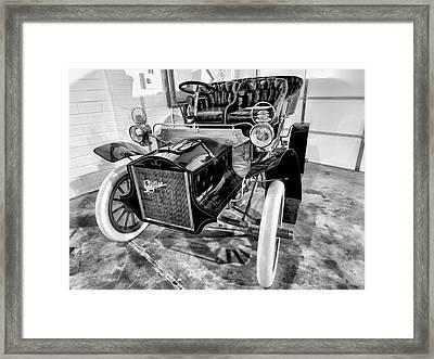1904 Cadillac Tonneau 10 Hp V1 Framed Print