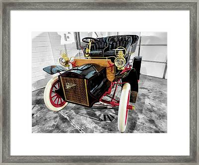1904 Cadillac Tonneau 10 Hp V2 Framed Print